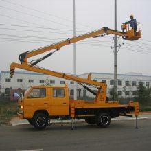 东风锐铃14米16米路灯安装维修车价格