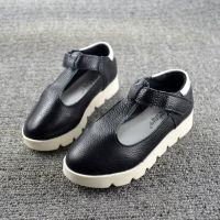 1817粉红小猪春季新款儿童真皮童鞋女童皮鞋韩版公主单鞋一件代发