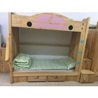 成都幼儿园床 实木公寓床 松木学生床