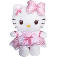 新品Hello kitty凯蒂猫公仔毛绒玩具 美美可爱kitty玩偶生日礼物