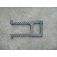 新日牌球墨铸铁人孔踏步-温州塑钢爬梯-盘锦立式雨水口厂家直销