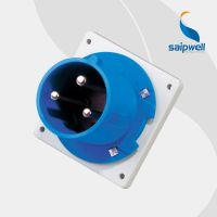 斯普威尔热卖 SP-1981 3P 63A 户外防水暗装插头 工业防水插头