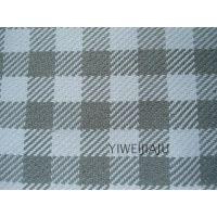 新款高档格子棉麻编织沙发巾布料宽幅窗帘面料可零剪批发