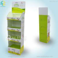 免费拿样保健冲调品纸堆头纸展示架冬营养麦片纸展示架
