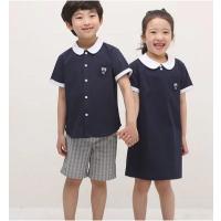 广东艺术幼儿园园服定制夏季英伦衬衫礼服款校服厂家直销纯棉幼儿园园服穿着舒适