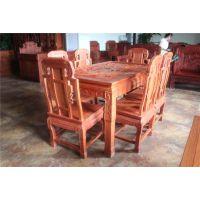 大圆桌 餐桌 中式 仿古实木大圆桌 餐桌椅组合 酒店茶楼专用 特价