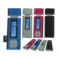 客户MINI新款米奇夹子MP3 米奇按键 铝壳夹子 Hello kitty MP3