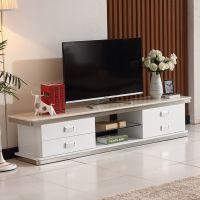 现代简约客厅家具钢化玻璃大理石台面烤漆不锈钢电视柜包邮A768#