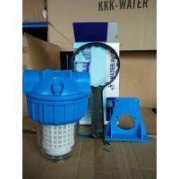 大胖前置过滤器 5寸可放PP棉阻水垢前置过滤器 硅磷晶加药罐