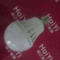 220V7W声光控led球泡 LED塑料灯泡 家用灯泡 楼道灯 工程声控灯