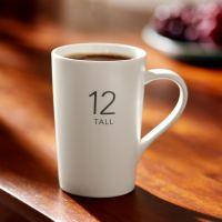 创意马克杯陶瓷水杯 星巴克玻璃数字杯 盎司咖啡保温杯  定制logo