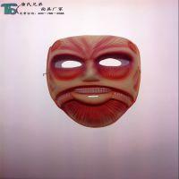 批发进击巨人面具 日本鬼面具 节日派对面具  恐怖鬼面具