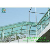 供应上海停车棚PC板,蓝色透明,绿色透明,透明色可定做PC停车棚专用材料