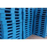 厂家供应 1200*1200*150m塑料托盘 双面焊接成型 平板田字型塑料托板