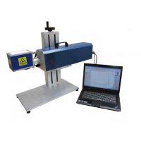 梅州供应电子元件通讯产品塑胶透光产品光纤激光打标机