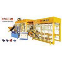 兴鑫QT12-15型全自动混凝土砌块成型机