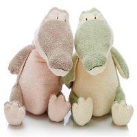 小鳄鱼毛绒玩具婴儿安抚玩偶来图设计定制