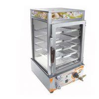 便利店设备 台式蒸包机 节能型商用电加热蒸包柜 五层保温展示柜