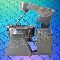 400型燃气行星搅拌夹层员 果酱加工设备 高粘度食品加工炒锅