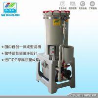 电镀过滤器耐腐蚀过滤机化学药液酸碱压滤机器CB-1004