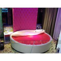 主题宾馆简约圆床-情趣水床-酒店床-情趣电动床-上海漫炫电动床厂家