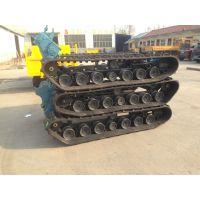 ZD-1100型徐州中地橡胶履带底盘 农用收割机履带底盘 运输车底盘