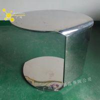 专业定制不锈钢展示台,10mm厚不锈钢板展示台