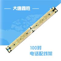 供应大唐 工程级语音跳线架大唐鑫胜DT2805-100 磷青铜福禄克保测 110语音配线架 工程级