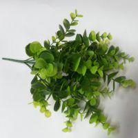 丝袜花丝网花材料批发DIY插花配叶材料仿真花绿色植物水草尤加利