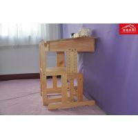 专业打造儿童学习桌椅 实木儿童学习桌  预防近视 矫正坐姿