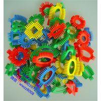 未来星积木幼儿园积木未来星软体积木塑料拼装插玩具幼儿园桌面游戏
