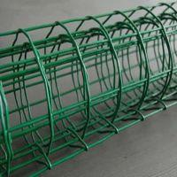 圈玉米铁丝网@绿色养殖铁丝围栏网@浸塑荷兰网防护网