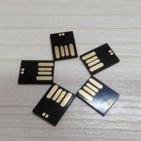 批发 慧荣方案SMI+三星 黑胶体 16GB 短版 超小迷你小U盘 TLC芯片