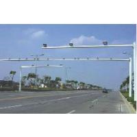 监控立杆安装 锥型监控杆 道路八角杆安装