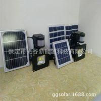 太阳能感应灯 厂家直销LED感应灯 投光灯 射灯人体感应灯批发