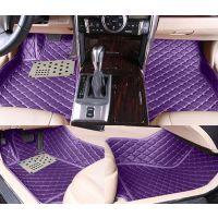 供应专车专用汽车脚垫 加厚皮革绗绣大全包围脚垫全覆盖脚垫