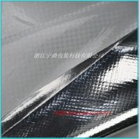 供应编织布铝膜防水隔热防锈PET铝塑布 可抽真空