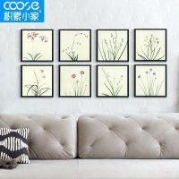 春的呼吸现代简约客厅装饰画沙发墙画餐厅花卉玄关挂画 4种尺寸