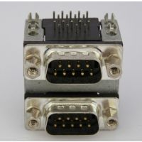 优质db9pin车针插头 5.0版车针DR9PIN公座 DR9P 9P铆合.jpg