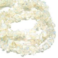 DIY饰品配件玻璃碎石(蛋白石)4.8元/条