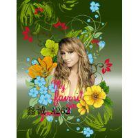 高清数码印花纸 欧美美女风格数码印花纸 A262#