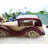 厂家推新品  木制汽车 儿童玩具  汽车模型老爷车 厂家大促销