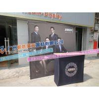 广州厂家热卖铝合金布拉网、展示架便捷架+前台画面kimi