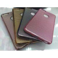 时尚日韩风格苹果手机套,iPhone6网格散热全电镀TPU套