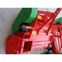 自卸功能回收机 山东保丰机械 拖拉机后置牵引型秸秆收获机