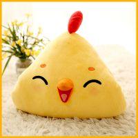 深圳毛绒玩具厂 厂家直销阿狸毛绒玩具定制暖手枕可爱小黄鸡抱枕被毛绒玩具小猴子