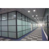 来宾优质办公玻璃隔断 单玻隔断 兆拓品牌隔断墙