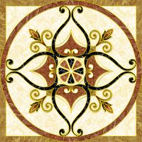 抛晶砖拼花 拼图微晶地毯瓷砖