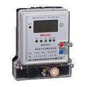 厂价直销 德力西DDSF607单相电子式多费率电能表