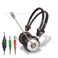 耳机批发TB-M880头戴耳机 游戏耳机 带麦克风语音耳机 电脑耳麦